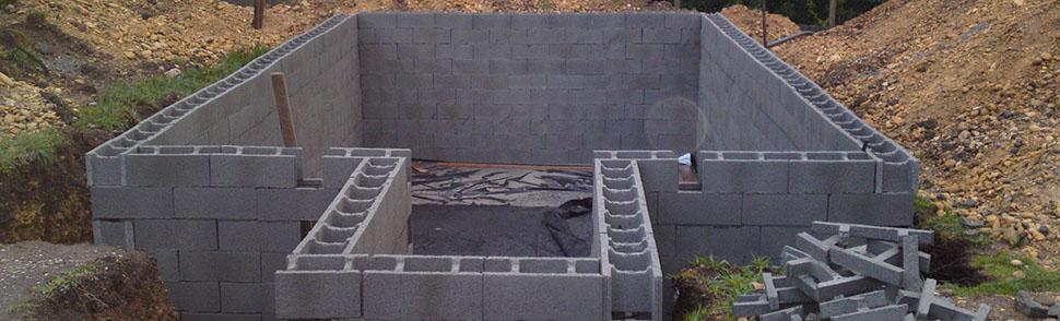 Prefabricados est vez bloques para muro - Muro de bloques ...